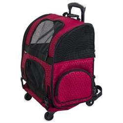 Gen7Pets® Roller-Carrier Geometric Red