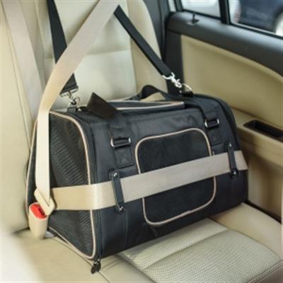 Crash Tested Gen7 Commuter™ Pet Carrier + Car Seat - Black