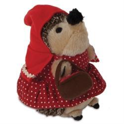 Zoobilee Little Red Heggie Dog Toy