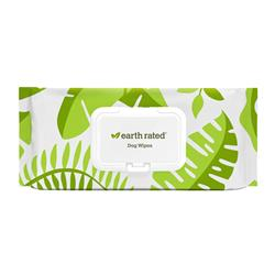 "Pet Grooming Wipes (100 count 8"" x 8"") by Earth Rated"