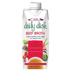 Daily Dish Beef Broth for Dogs and Cats