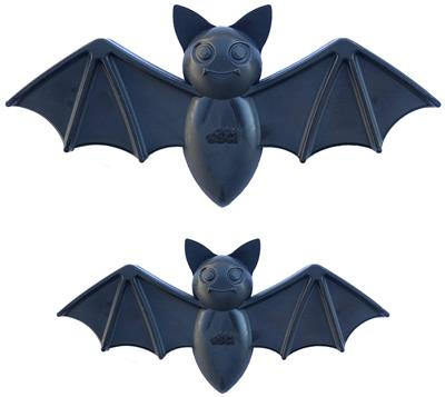 SodaPup Vampire Bat Shaped Ultra Durable Nylon Dog Chew Toy for Aggressive Chewers, Guaranteed Tough, Non-Toxic, Reduces Boredom and Problem Chewing, Made in USA