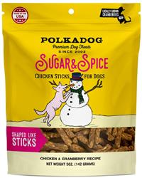 Polkadog Holiday Pouch: Sugar & Spice (Chicken & Cranberry) - Case of 12