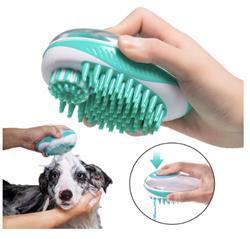 Pet Life® 'Swasher' Shampoo Dispensing Massage and Bathing Brush