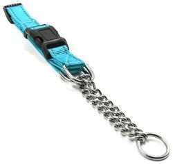 The Pet Life® 'Tutor-Sheild' Martingale Safety and Training Adjustable Chain Dog Collar