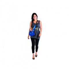 Pooch Pouch Sling Carrier - Blue