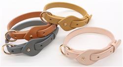 Pet Life® 'Ever-Craft' Boutique Series Adjustable Designer Leather Dog Collar