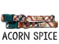 Acorn Spice – Organic Cotton Collars & Leashes