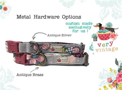 Santa Plaid – Organic Cotton Collars & Leashes