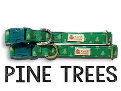 Pine Trees – Organic Cotton Collars & Leashes