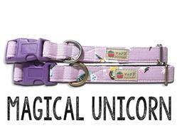 Magical Unicorn – Organic Cotton Collars & Leashes