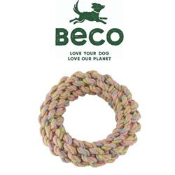 BECO - Hemp Rope Jungle Ring Tough Dog Toy