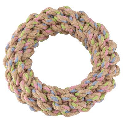 BECO - Hemp Rope Jungle Ring Tough Dog Toy