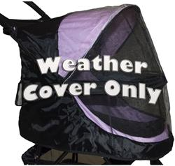 Black Weather Cover For No-Zip Happy Trails