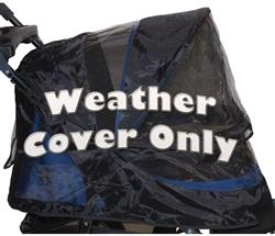 Black Weather Cover For No-Zip Jogger AT3