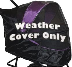 Black Weather Cover For No-Zip Special Edition