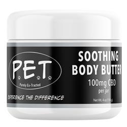 Premium CBD Soothing Body Butter - 4oz. (100mL)
