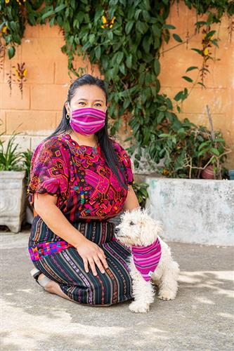 Tropical Punch Dog Bandana