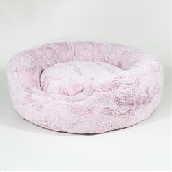 Amour Dog Bed: Blush