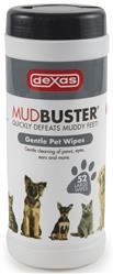 Dexas MudBuster Gentle Pet Wipes