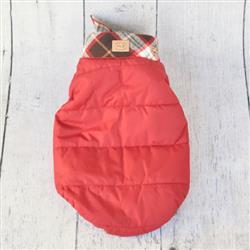 Red Aspen Bandana Puffer Jacket