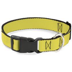 Plastic Clip Collar - Yellow