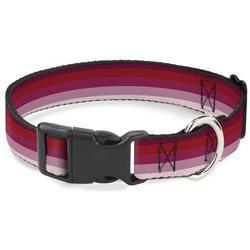 Plastic Clip Collar - Spectrum Pink