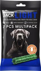 Premium JACK® 7-Pack LIGHT Dental Care Treat Sticks