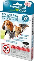 Preventol Natural Duo Tick & Flea Repellant Collar for Dogs and Cats