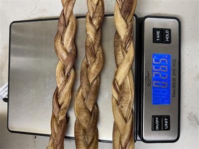 9 Inch Braided Odorless Bully Stick From Brazil, Bulk