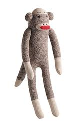 Multipet Sock Pals Monkey - 10""