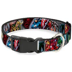 Plastic Clip Collar - Marvel Avengers Superhero/Villain Poses
