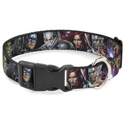 Plastic Clip Collar - 7-Vivid Avengers Action Poses
