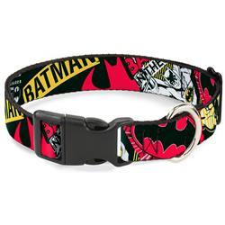 Plastic Clip Collar - Batman Caped Crusader