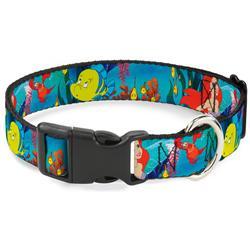 Plastic Clip Collar - Ariel, Sebastian & Flounder Scene