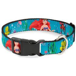Plastic Clip Collar - Ariel, Sebastian & Flounder Scene2