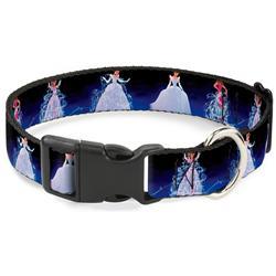 Plastic Clip Collar - Cinderella Transformation Blue Fade