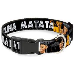 Plastic Clip Collar - Lion King Simba & Nala HAKUNA MATATA