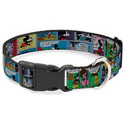 Plastic Clip Collar - Mickey & Minnie Comic Strip