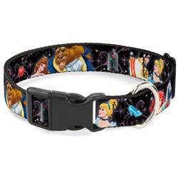 Plastic Clip Collar - Disney Princesses & Prince's Dancing