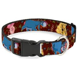 Plastic Clip Collar - Winnie the Pooh Character Poses