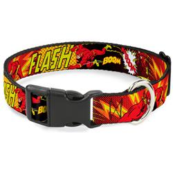 Plastic Clip Collar - The Flash BOOM-KABOOM!