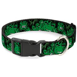 Plastic Clip Collar - The Hulk Stacked