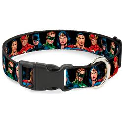 Plastic Clip Collar - Justice League Elite Forces Superheroes