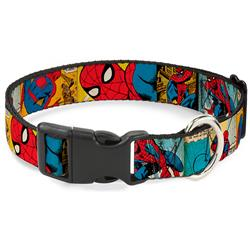 Plastic Clip Collar - Spider-Man Comic Strip