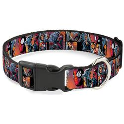 Plastic Clip Collar - Spider-Man & Black Cat Scene Blocks