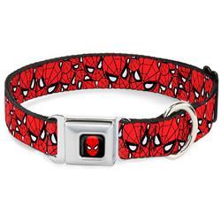 Spider-Man Seatbelt Buckle Collar - Spider-Man Stacked
