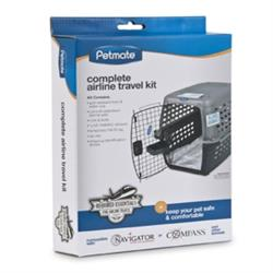 Petmate® Complete Kennel Airline Travel Kit