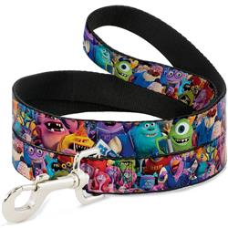 Dog Leash - Monsters University Monsters Stacked