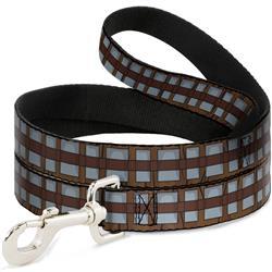 Dog Leash - Star Wars Chewbacca Bandolier Bounding Browns/Gray